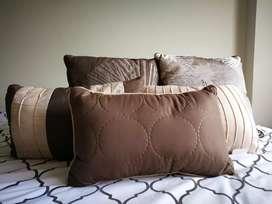 Juego/set de almohadas decorativas