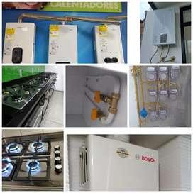 Servicio tecnico calentadores, estufas gasodomesticos en general, correccion de fugas