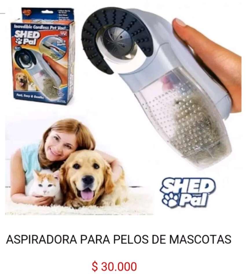 Removedor quita pelos de perros y gatos para mascotas aspiradora electrica manual shed pal