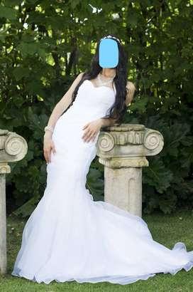 Vestido de novia estilo trompeta