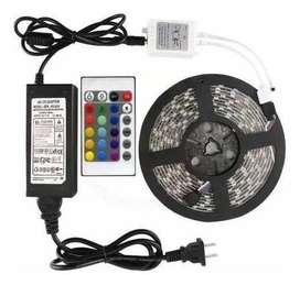 CINTA LED 5050  RGB + KIT