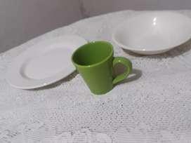 Vajilla de ceramica para 4 personas