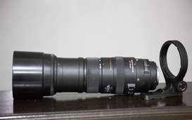 Teleobjetivo Sigma 150-500mm Canon