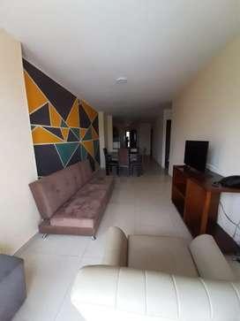 Se arrienda apartamento amoblado en semanas o meses todos los servicios incluidos solo Luz aparte