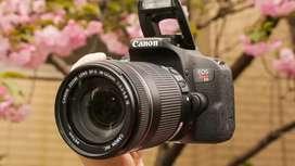 Canon T7i cámara profesional reflex