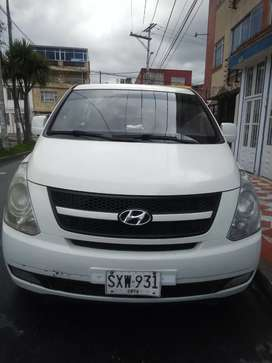 Se vende camioneta Van H1 Hyundai. Servicio Publico