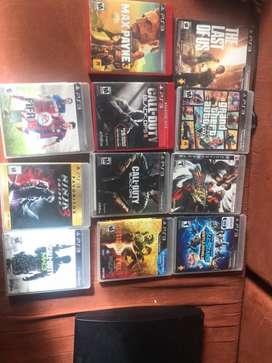 PS3 con juegos 11