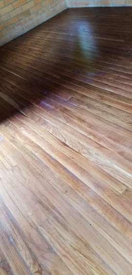 Pulida de pisos de madera
