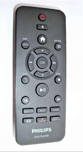 Control Remoto Philips Dvd Player Dvp3880- DVP2850- Origina
