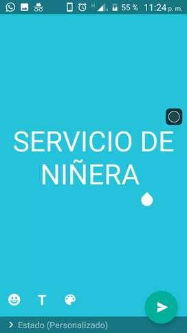 Servicio de niñera FINES DE SEMANA