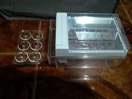 Dispensador de hielos y recipiente para huevos NUEVOS de nevera Abba no fros (negociable)