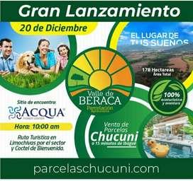 VENTA DE LOTES 2000 MTR2 EN PROYECTO CHUCUNI