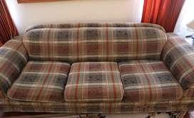Vendo Juego sillones muebles verde