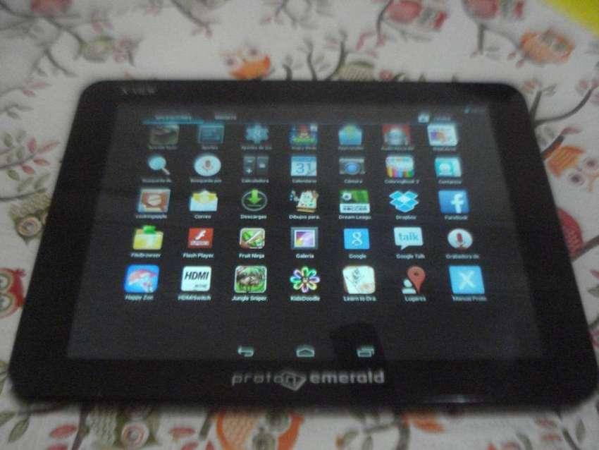 Tablet Xview Proton Emerald 8 Pulg Hdmi En Caja Poco Uso Exc