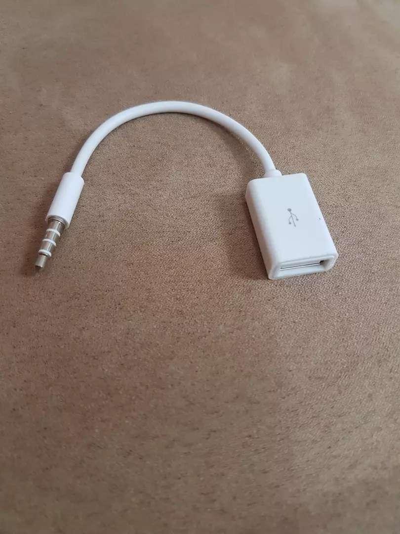 Adaptador 3.5 a Usb para celular