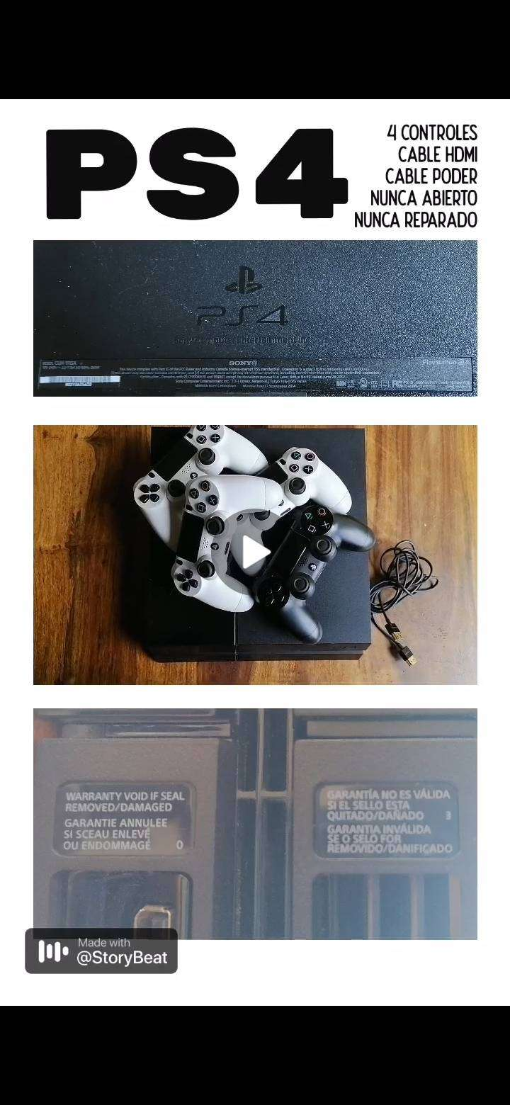 PS4 en venta