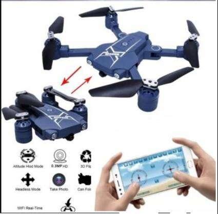 Drone plegable con Camara de video y fotos se controla con el celular 0