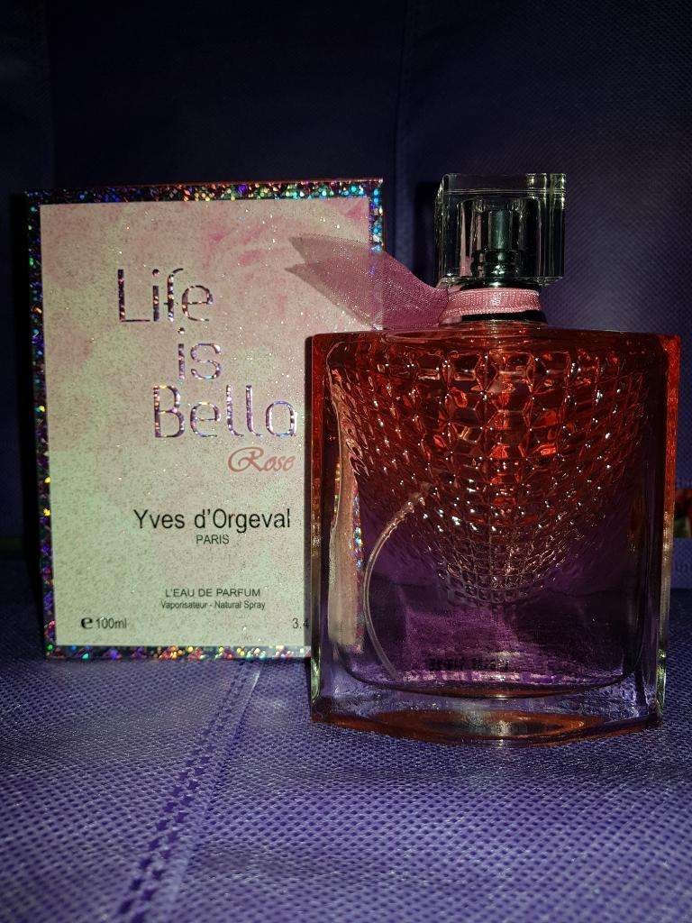 Perfume Life Is Bella Rose 0