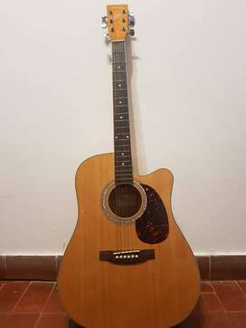 Guitarra Electroacustica Parquer Mystic