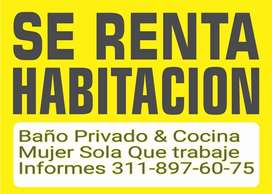 Rento Habitación Baño ducha  privado y cocina Barrio la Riviera Bogotá