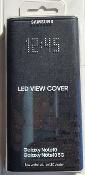 Cover Led View Galaxy Note 10  Led View Cover Funda Oficial