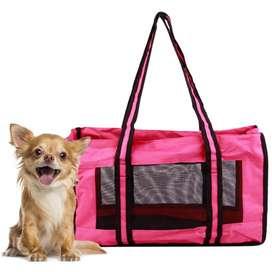 Bolso Transportador de Mascotas, muy práctico!!!