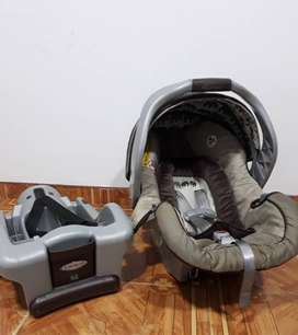 Silla para carro de bebé marca graco