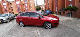 Ford Fiesta Titanium At Sedan 2014, 69mil Kms Papeles Al Dia