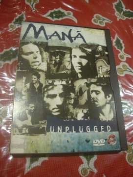 Dvd Musical DE MANA, UNPLUGGED Original
