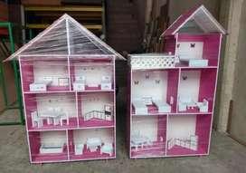 Vendo casa de muñecas y cocinas