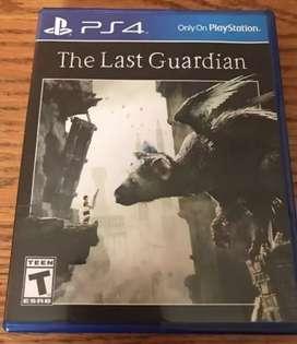 The Last Guardián juego nuevo sellado