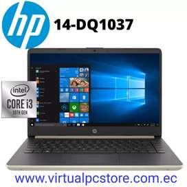 PORTATIL HP 14-DQ1037WM Core i3-1005G1