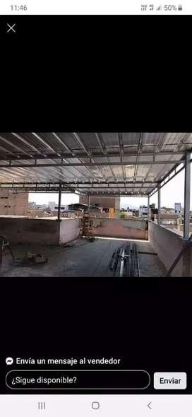 Estructuras , techos aluzinc