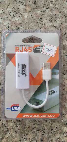 ADAPTADOR TARJETA DE RED LAN RJ45 FAST ETHERNET USB 2.0