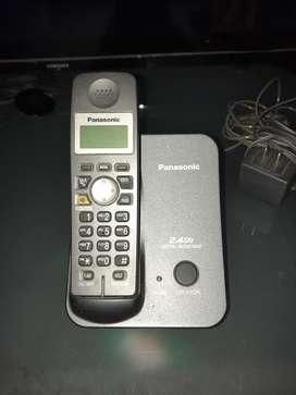 VENDO TELEFONO FIJO INALAMBRICO PANASONIC