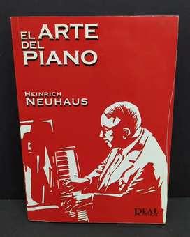 EL ARTE DEL PIANO Consideraciones de un profesor. Por  Heinrich Neuhaus Real Musical