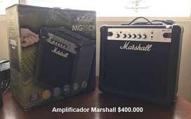 Vendo Amplificador Marshall