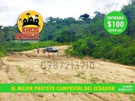 Credito Directo, Cuotas Fijas, Sin Intereses, Terrenos Campestres en poryecto Ecologico Quintas Rancho Spondylus, PileS1