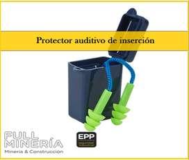 PROTECTOR AUDITIVO O TAPAOIDO