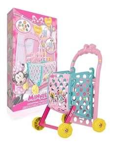 Minnie Mouse - Carrito De Compras Con Accesorios