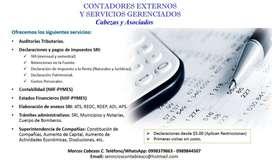 CONTADOR Y MAS SERVICIOS EXTERNOS