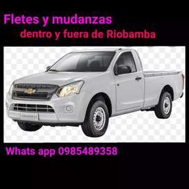 Fletes y mudanzas dentro y fuera de Riobamba