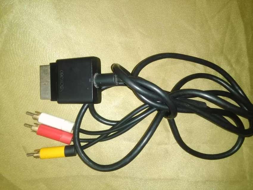 cables de xbox 360 de audio y video 0
