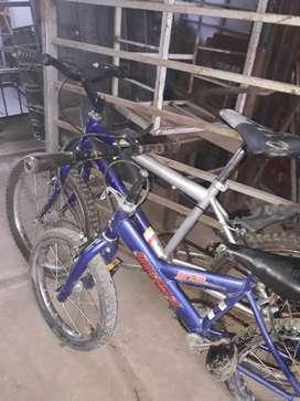 Vendo bicicletas de tdo tamaño y modelos