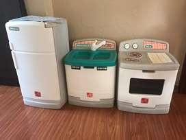 Set refri cocina lavabo