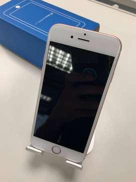 Celular IPhone 6s oro rosa 64GB con 6 meses de garantía
