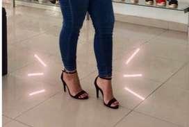 Zapatillas tacón