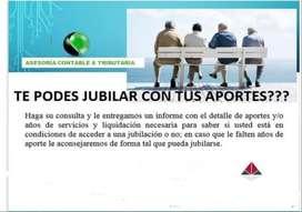 JUBILACIONES- ESTUDIO CONTABLE IMPOSITIVO