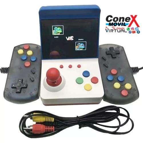 Mini Consola Arcade Portatil 3000 Juegos 0