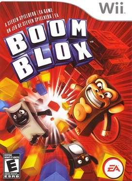 juego wii BOOM BLOX usado